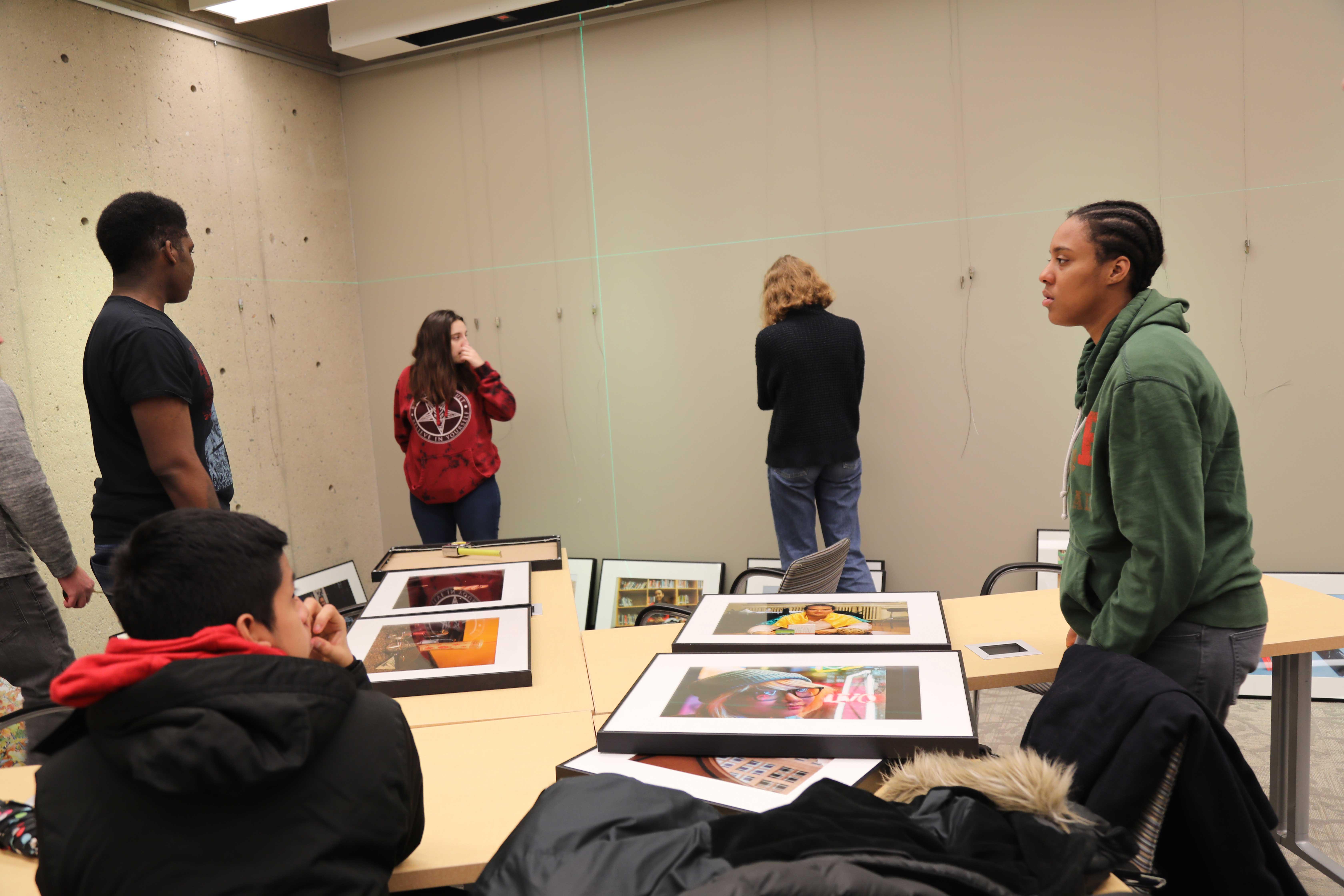 9586 Harvard Photo Installation