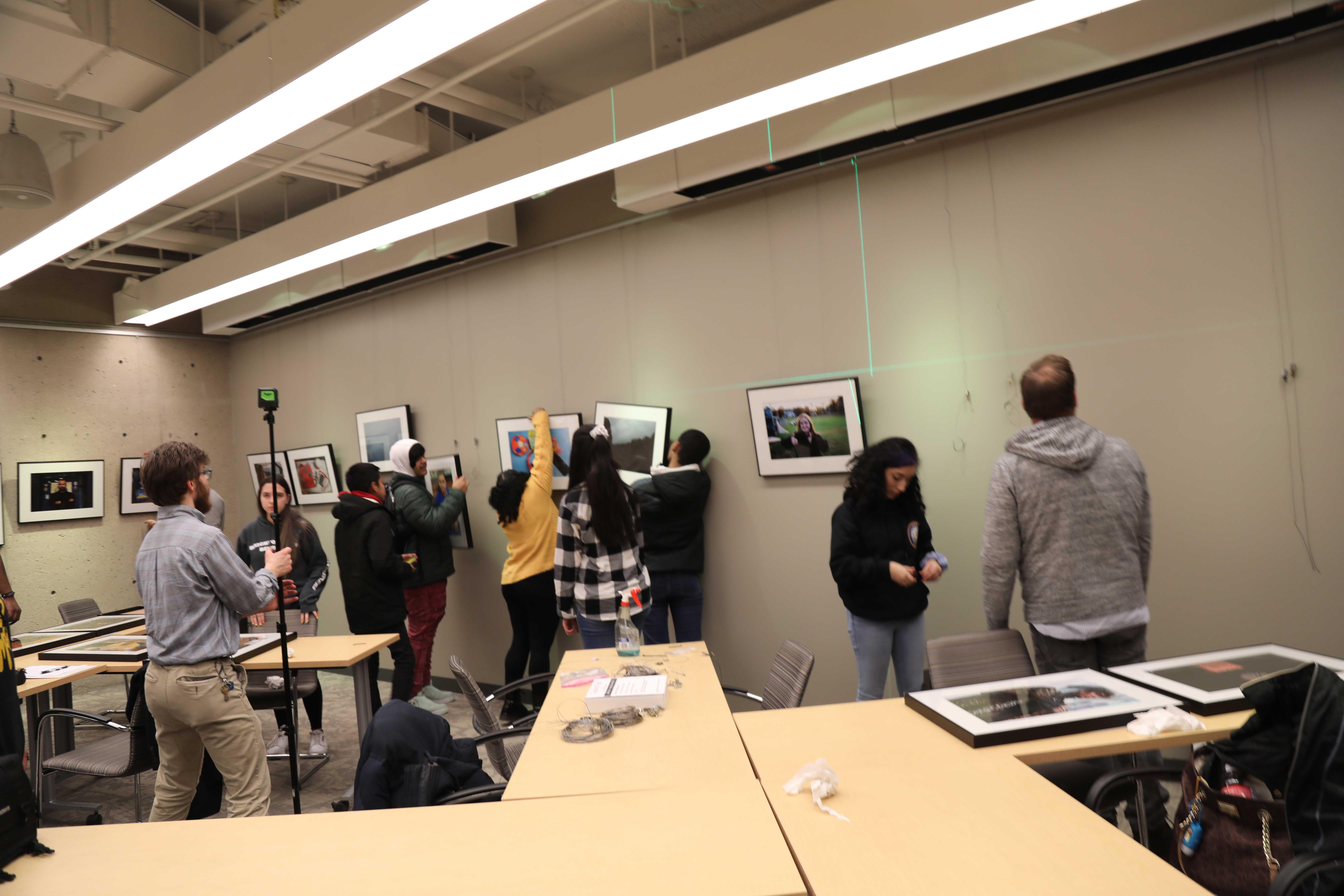 9702 Harvard Photo Installation